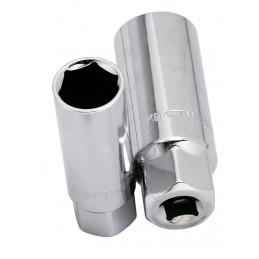 """Douille pour bougie 3/8"""" - de 14 à 21 mm - KRAFTWERK"""