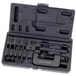 Coffret d'outils de séparation et de rivetage pour chaînes de moto- KRAFTWERK