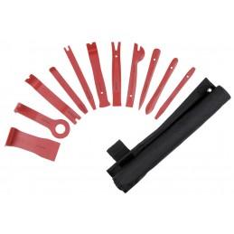 Jeu de 11 outils pour le démontage des garnitures de portières- KRAFTWERK