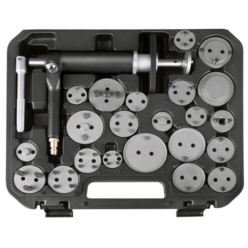 Coffret repousse-pistons pneumatique 23 pièces - KRAFTWERK
