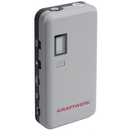 Booster de démarrage + Powerbank, 12V, 500CA - 1000PA, 55.5Wh - KRAFTWERK