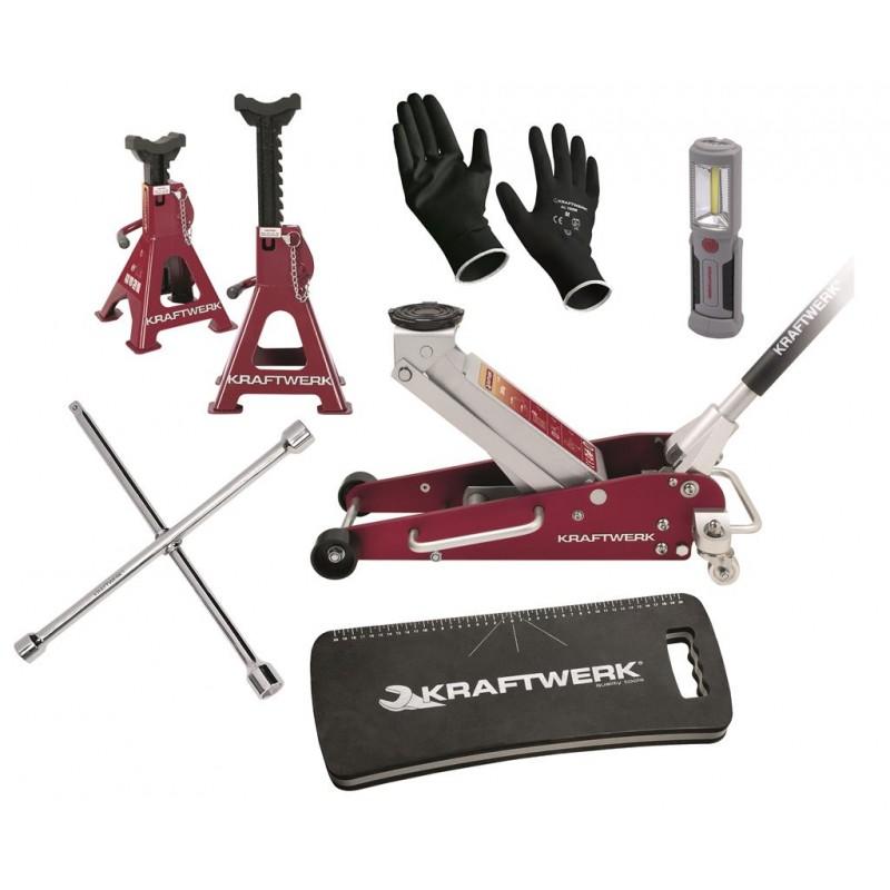 Jeu d'outils universel de changement de roue 3981 - KRAFTWERK