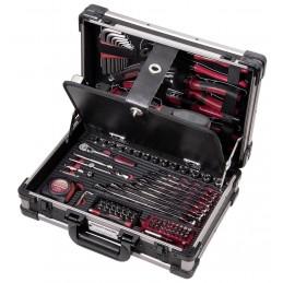 """Coffret d'outils Pro Line, 1/4"""", 123 pièces"""
