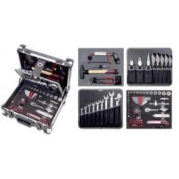 "Coffret d'outils B143, 1/4""+3/8"", 102 pièces- KRAFTWERK"