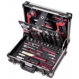 """Coffret d'outils Pro Line, 1/4"""" + 3/8"""", 151 pièces - KRAFTWERK"""