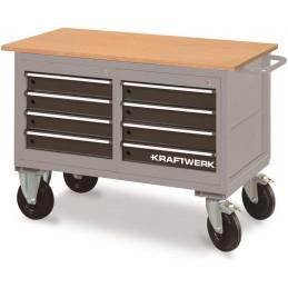 Chariot d'atelier 8 tiroirs
