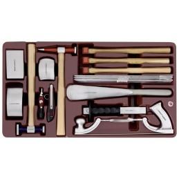 Coquille d'outils spécial carrosserie 16 pièces - KRAFTWERK