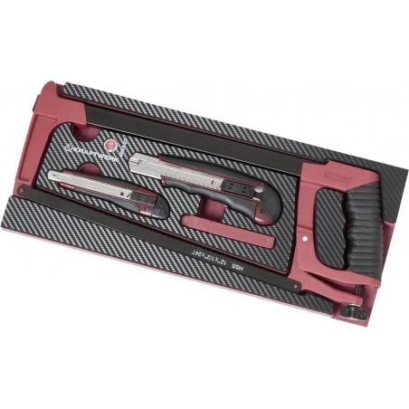Insert d'outils de coupe EVA3, 18 pièces