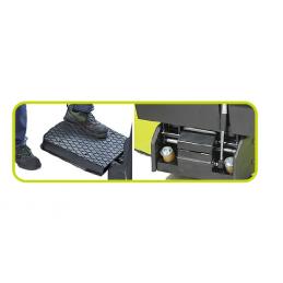 Plateforme rabattable pour Gerbeur LX12 PRAMAC