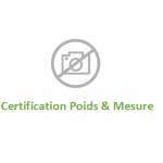 Certification poids& mesure transpalette manuel peseur GS/P EVO ou GS/P EVO INOX PRAMAC