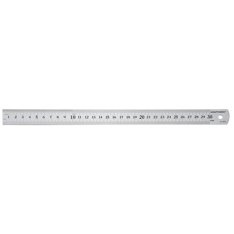 Reglet semi-rigide inox 300 mm - KRAFTWERK