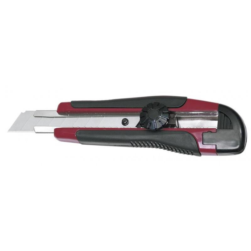 Couteau universel 18 mm avec verrouillage - KRAFTWERK