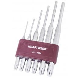Jeu 6 chasse-goupilles avec porte-outils - KRAFTWERK