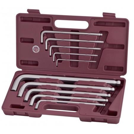 Coffret de 10 clés mâles 3 à 17 mm - KRAFTWERK