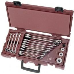 Coffret de clés mixtes CK COMPLETO 19 pièces de 5.5 à 19 mm  - KRAFTWERK
