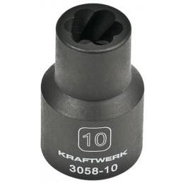 """Douille d'extracteur 1/2"""" - 10 à 19 mm - KRAFTWERK"""