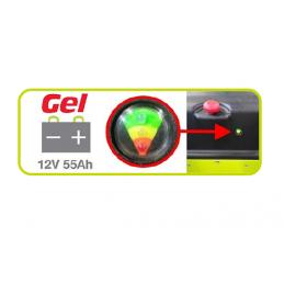 Batterie GEL 12V 55ah C20 pour Transpalette Haute-levée HX10E - PRAMAC