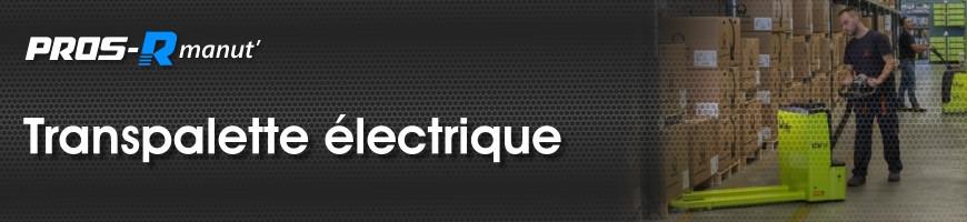 Transpalettes électriques ou semi-électriques